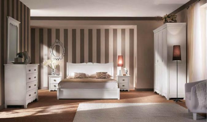 Camera da letto in arte povera by La Bottega di Ciro