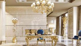 Dal barocco al contemporaneo: la foglia oro e argento in arredamento