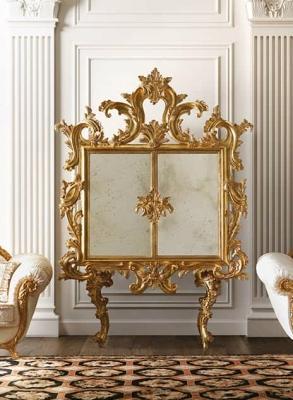 Arredamento classico foglia oro by Fanfani
