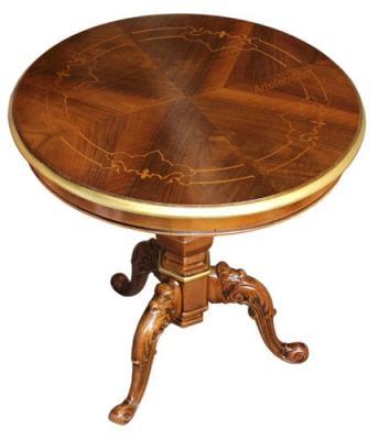 Tavolino foglia oro by Styledesign