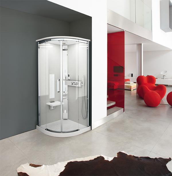 Cabina doccia - piccola Spa - Novellini
