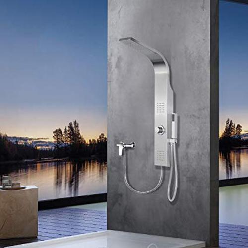 Elbe pannello colonna doccia idromassaggio - Amazon