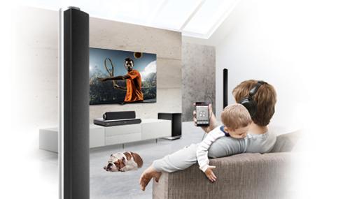 LG Home Cinema Private Sound