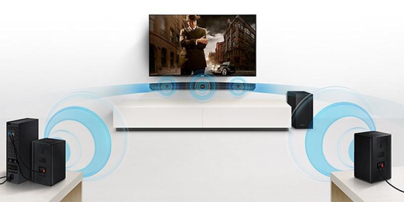 Soundbar curva di Samsung