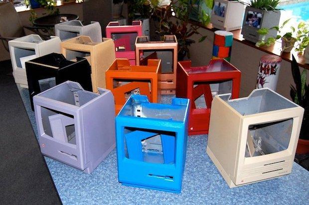 Riciclo creativo: portavasi con vecchi computer, parte 2, da instructables.com