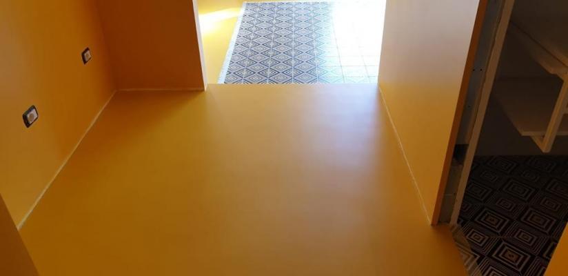 Pavimento in resina ecologica di Kromax