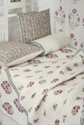 Stoffe indiane - Good Earth - letto