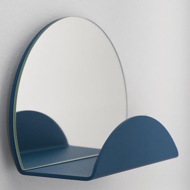 Appendiabiti, specchio e svuota tasche colorato, da Formae