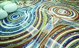 Pavimento contemporaneo in marmo Kaos di Budri