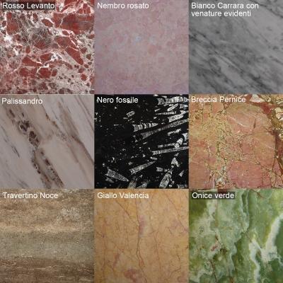 Catalogo di marmi per pavimenti by Marmi ZEM