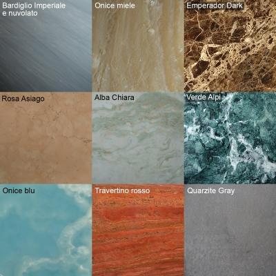 Catalogo marmi per pavimentazioni, di Marmi ZEM