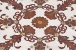 Particolare di un pavimento di marmo intarsiato di Budri