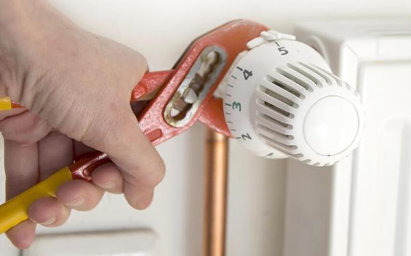 Come installare una volvola termostatica