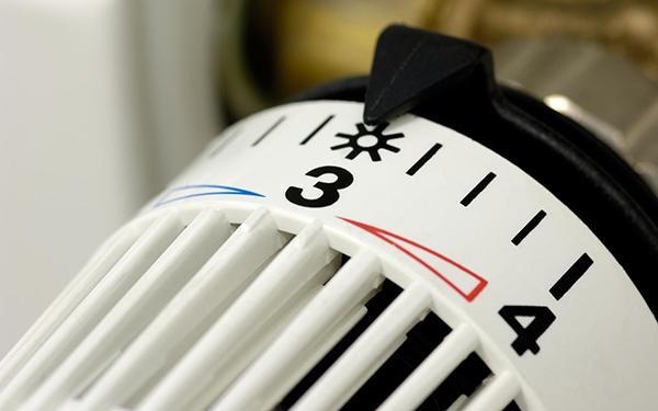 Scala di regolazione di una valvola termostatica