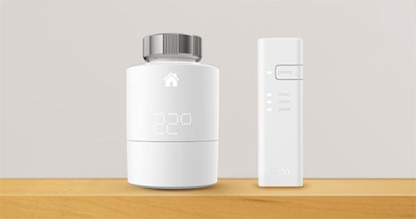 Valvola termostatica intelligente di Tado°