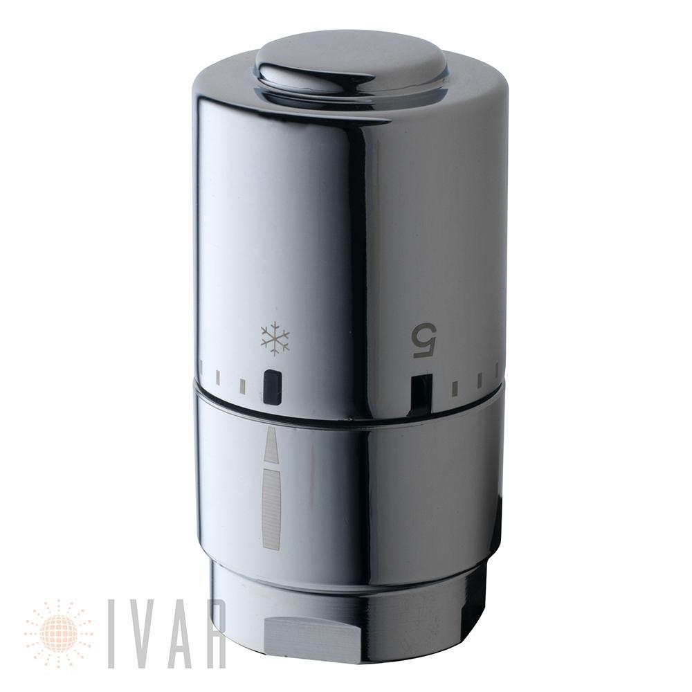 Testa termostatica Optima DH 01 Crome di Ivar