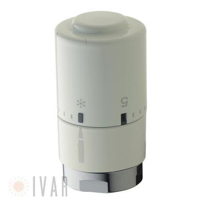 Testa termostatica Optima DH 01 White di Ivar