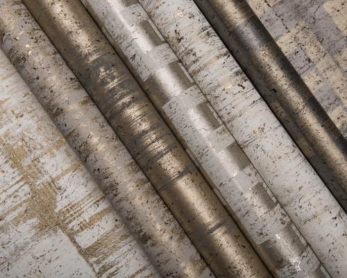 Collezione di rivestimenti parietali in sughero Antares di Omexco
