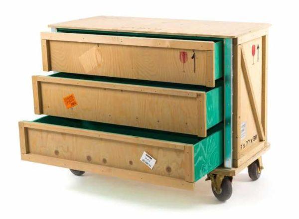 casettiera design industriale collezione Export di Seletti