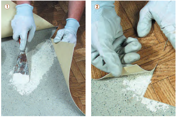 Pavimento in PVC adesivo