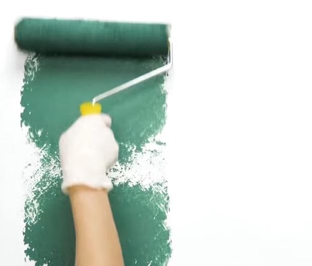 Idee per decorare pareti con l'effetto rigato: parte 1, da 5-Minute Craft