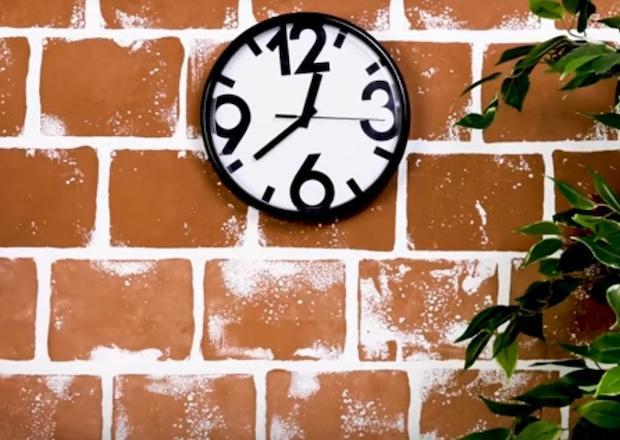 Decorazioni pareti con mattoni finti, da 5-Minute Craft