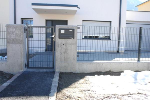 Recinzione in alluminio Bausystem Intertor