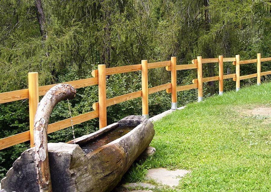 Steccato da giardino Ruatti Legnami