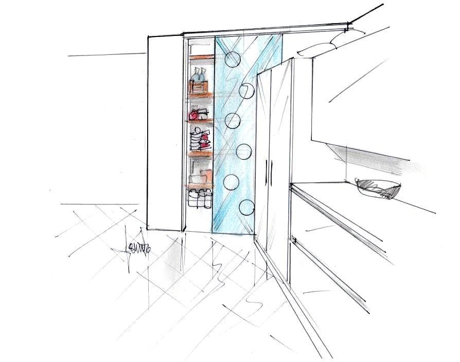 Pannello plexiglass in sostituzione porta vetro