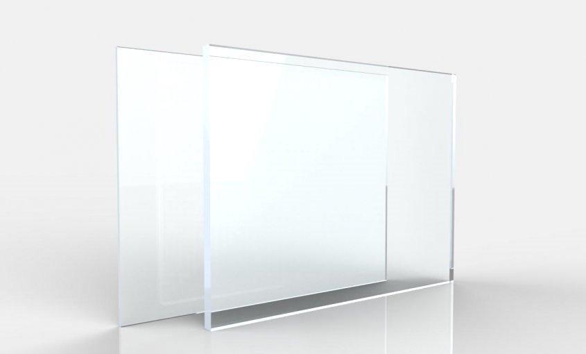 Plexiglass trasparente estruso - Tomea Materie Plastiche