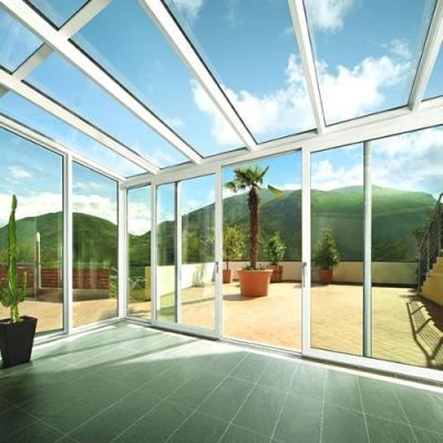 Veranda in plexiglass, creazione Co.In.