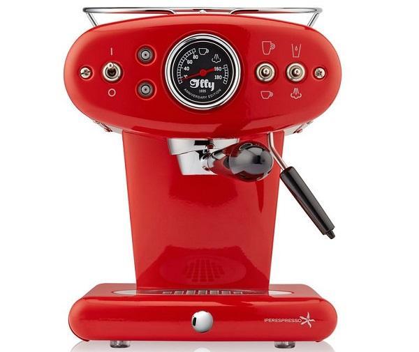 La macchina caffè capsule X1 anniversary Iperespresso, da Illy