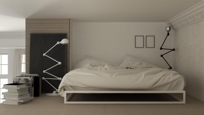 Un soppalco può essere un ottimo spazio riservato dove posizionare la camera da letto