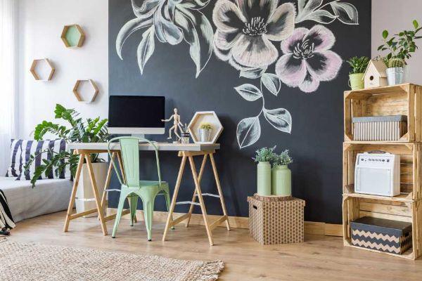 Scegliere il giusto colore rende più accogliente l'angolo studio