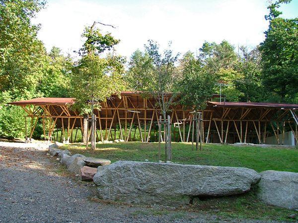 Il padiglione di Vergiate nel Parco del Ticino