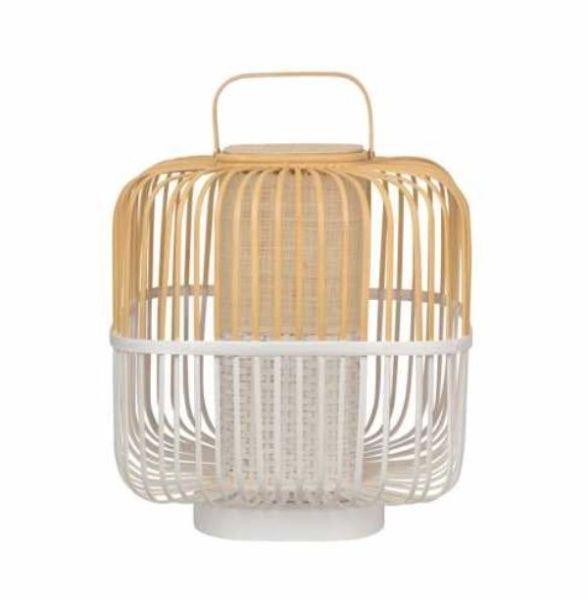 Lampada da tavolo in bambù Forestier