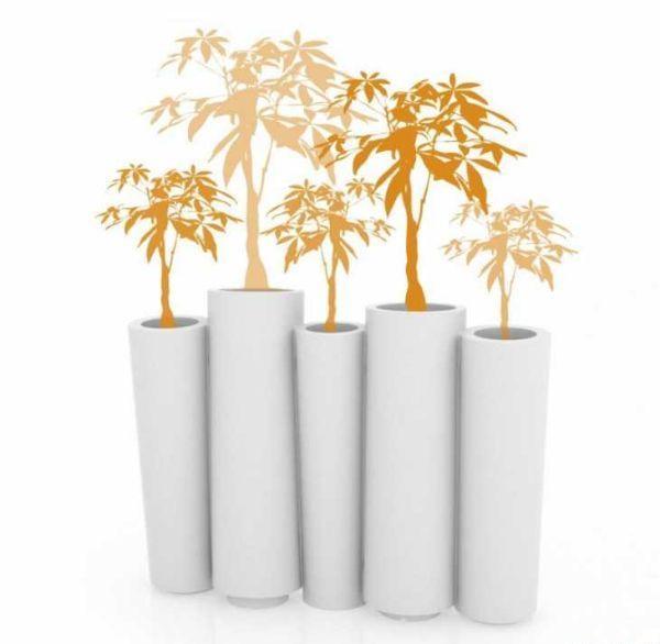 Vaso di forma organica Bamboo di Slide