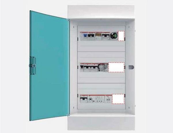 Predisporre spazio in più per moduli aggiuntivi nel centralino dell'impianto elettrico. Immagine ABB SPA