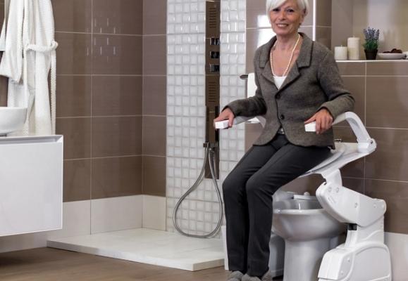 Presidio wc per disabili e anziani Solleva
