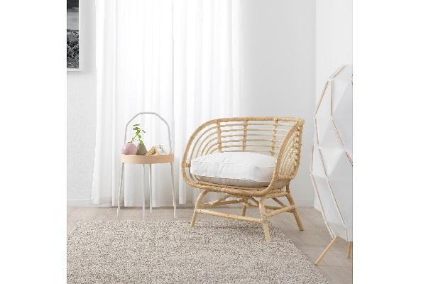 Sedia in rattan Buskbo di Ikea