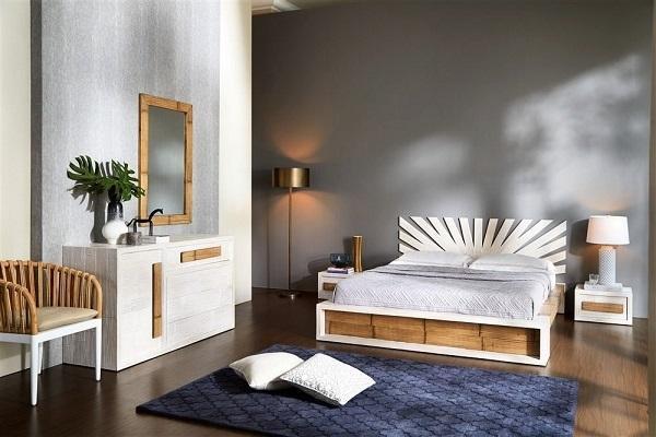 Camera da letto in bambù Bortoli