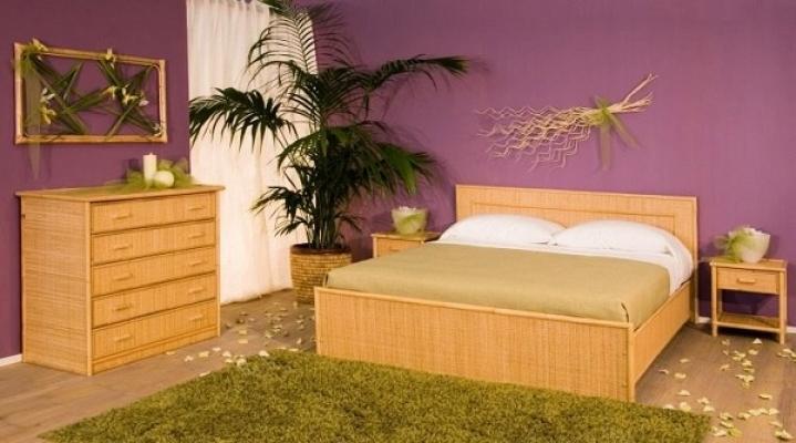 Camera da letto Classic Bamboo di Bortoli