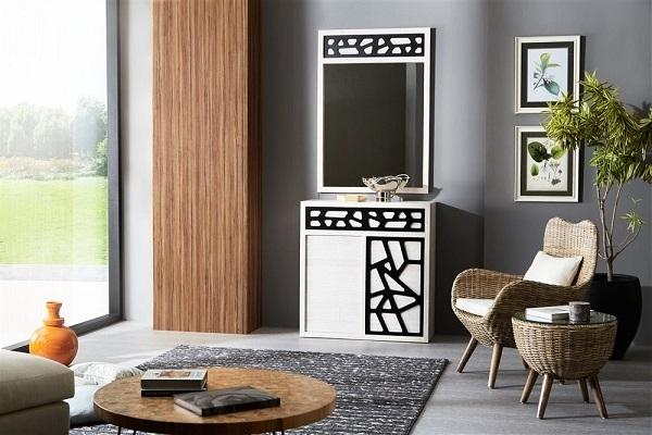 Credenza Contradition Crash bamboo di Bortoli