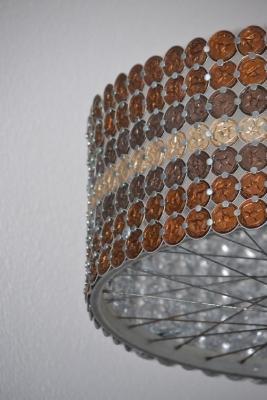 Una lampada fatta con le capsule, da faircustomer.ch