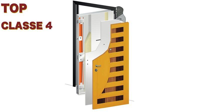 Porta blindata Top classe 4