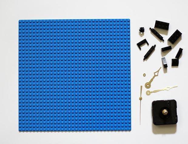 Orologi creativi con le Lego: parte 1, da ournerdhome.com