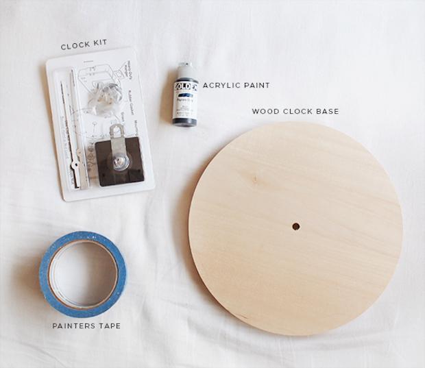 Orologi creativi fai da te in legno: parte 1, da almostmakesperfect.com