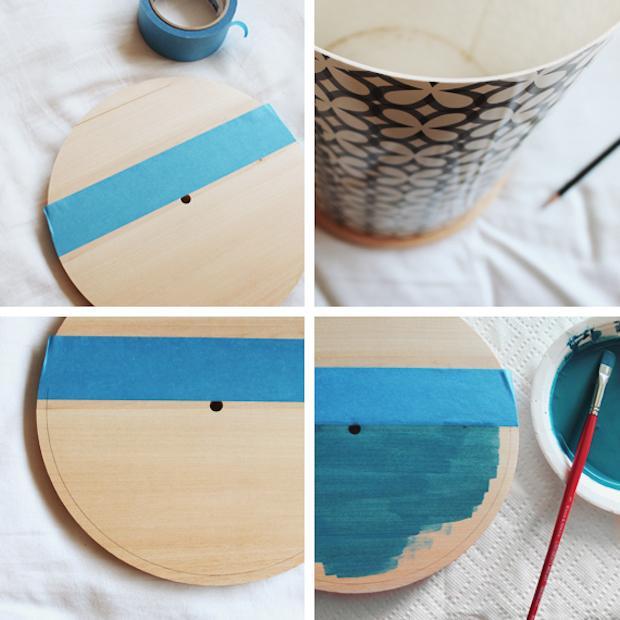 Orologi creativi fai da te in legno: parte 2, da almostmakesperfect.com