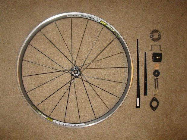 Orologio fai da te con il cerchione della bici: parte 1, da instructables.com