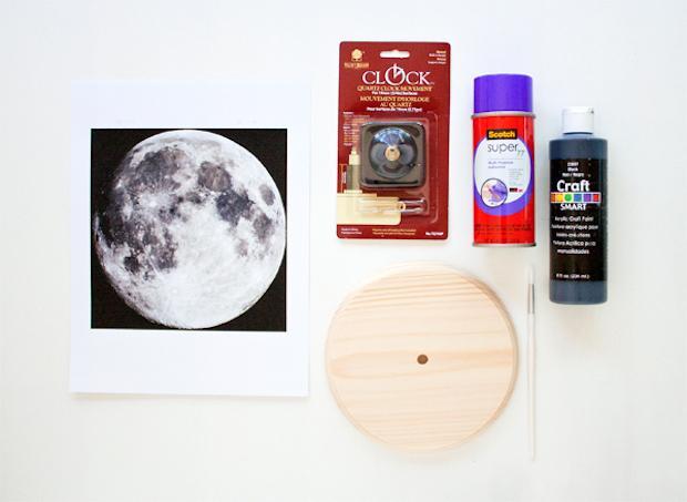 Orologio fai te lunare: parte 1, da hellobee.com